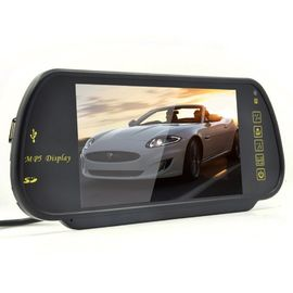 7 Inch TFT Rear View Mirror Screen , Car Reverse Camera Contrast Ratio 350 / 1