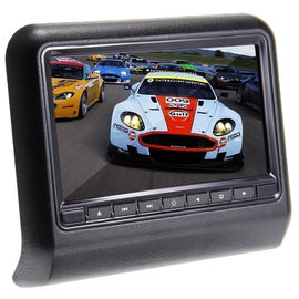 "9"" HD Digital Car Pillow Monitors Chinese And English OSD Removable Design"