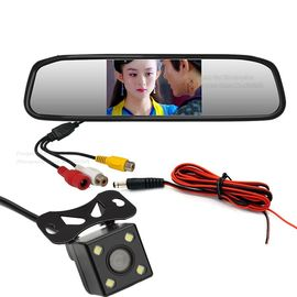 Wide View Angle Car Backup Camera Mirror , Wireless Rearview Mirror Backup Camera